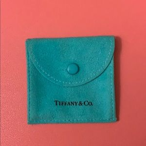 Tiffany & Co. earring bag